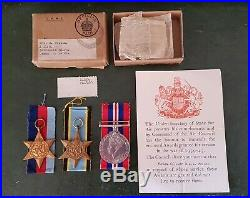Ww2 Raf Aircrew Casualty Medal Group 268 Sqn