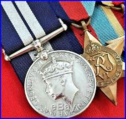 Ww2 Royal Navy Distinguished Service Medal Group Kia Korean War Helicoptor Crash
