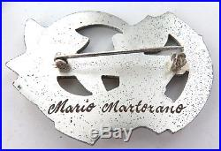Ww2 Superb Lot Italian Facist Medal / Badge Group. Mario Martorano