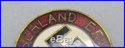Ww2 german medal badge lapel enamel